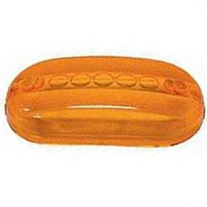 Picture of Peterson Mfg.  Amber Clearance Light Lens for Peterson Series 135A/R 134-15A 18-0490