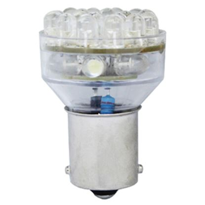 Picture of Green LongLife  1139/1156 Style Natural White 95LM Multi LED Light Bulb 1010504 18-0698