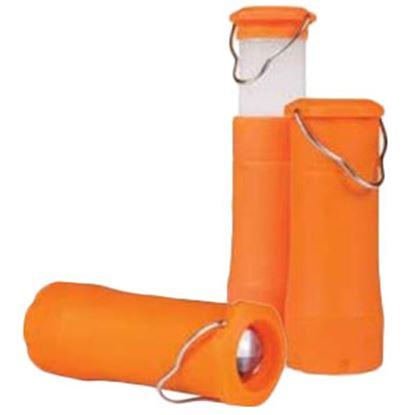 Picture of Camco  Orange Plastic Multifunctional LED Lantern 51374 18-1142