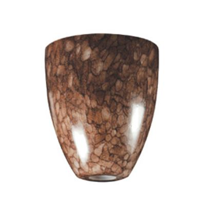 Picture of ITC  Traditional Shape Glass Pendant Light Shade w/ Coffee Bean 2089-CB-DB 18-1341
