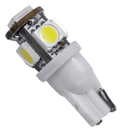 Picture of Arcon  #194 Bulb, 5 LED , Bright White 12V 6Pk 50558 18-1668