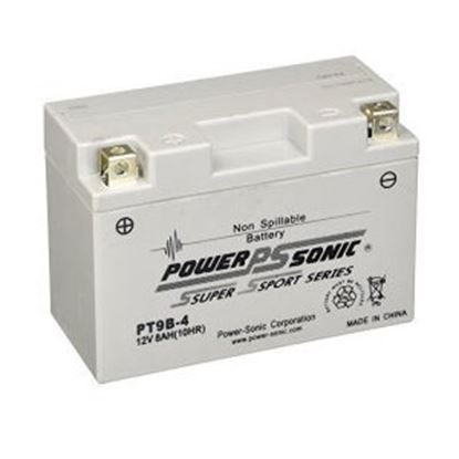 """Picture of Power-Sonic  12V 6""""L X 2-3/4""""W X 4-1/8""""H Battery PT9B-4 18-1876"""