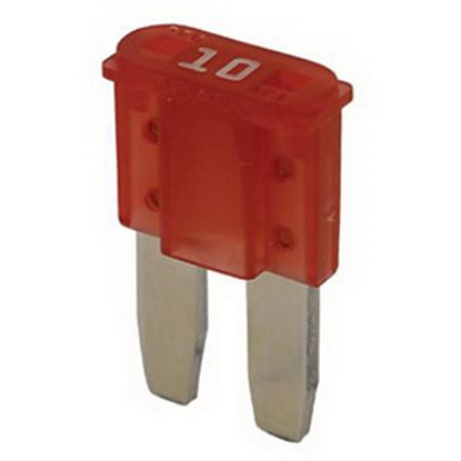 Picture of Bussman  5-Pack 10A 2-Leg Micro ATR Red Blade Fuse ATR-10 19-0096