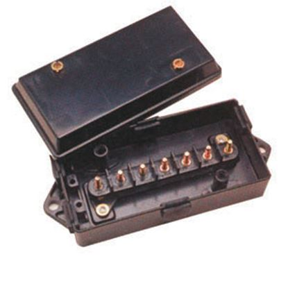 "Picture of Pollak  8.06""L x 3.2""W x 2.09""H ABS Plastic Circuit Breaker Junction Box 52-259 19-0109"