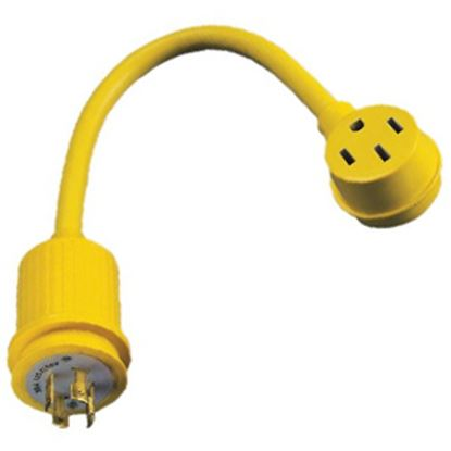 Picture of Marinco  30A/50A Pigtail Locking Power Cord Adapter 174ARV 19-0508