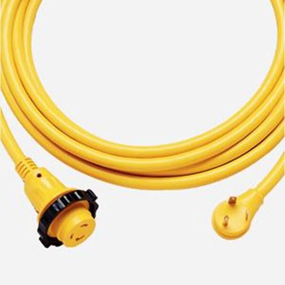 Picture of Marinco Power+Plus 30' L 30A Yellow Power Cord 30SPP.RV 19-0523