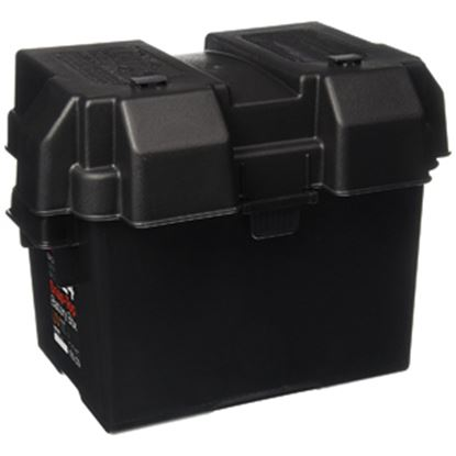 Picture of Noco Snap-Top (TM) Black Dual 6V Group Vented Battery Box HM300BK 19-0740