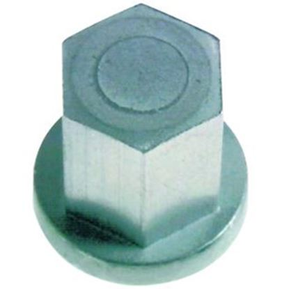 """Picture of East Penn Deka 9/16"""" Hex Head Closed Top Group 31 Nut 00574 19-0820"""