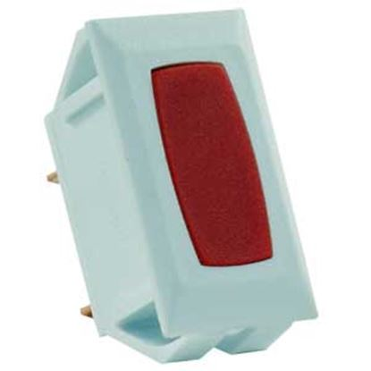 Picture of JR Products  12V Red Indicator Light w/White Case 12755 19-1860