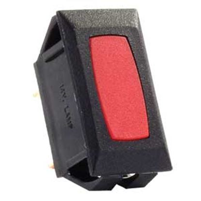 Picture of JR Products  12V Red Indicator Light w/Black Case 12725 19-1864