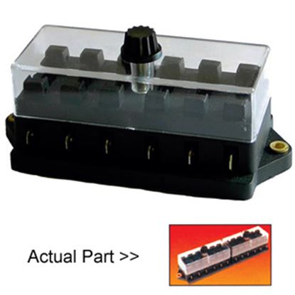 Picture of Battery Doctor  12-Way ATO/ATC Blade Fuse Block 30114-7 19-2004