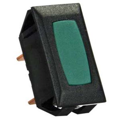 Picture of JR Products  12V Green Indicator Light w/Black Case 13315 19-2033