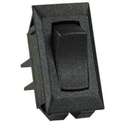 Picture of JR Products  5-Pack Black 125V/ 16A SPST Rocker Switches 13401-5 19-2136