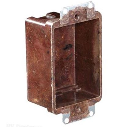 "Picture of RV Designer  2-1/2""W x 3-1/4""H Vertical Single Gang Electrical Box S891 19-2438"