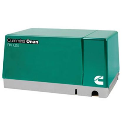 Picture of Cummins Onan Quiet Gasoline (TM) 5500W Gasoline CARB Compliant Generator 5.5HGJAB-6755 19-3222