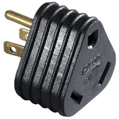 "Picture of Arcon  18"" 30F/15M Pigtail Power Cord Adapter 13995 19-3339"