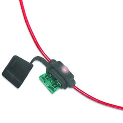 Picture of Battery Doctor  ATO/ATC Blade Fuse Holder w/Fuse 24413 19-3529