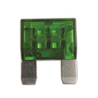 Picture of Battery Doctor  30A Maxi Green Blade Fuse 24530 19-3590