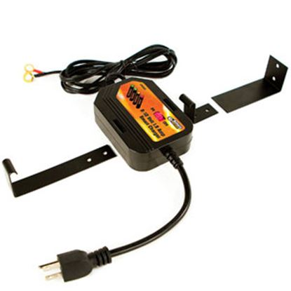 Picture of Battery Doctor  Black CEC 6/12V 1.5 A On-Board Smart Battery Charger 20028 19-3922