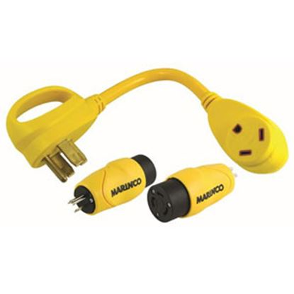 Picture of Marinco  15/50A Power Cord Adapter 30GOA 19-4085