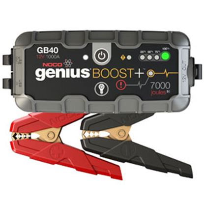 Picture of Noco Boost Plus 1000A Battery Jump Starter w/LED Lights GB40 19-4168