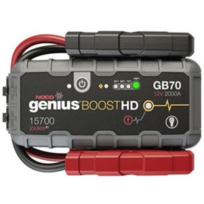 Picture of Noco Boost HD 2000A Battery Jump Starter w/LED Lights GB70 19-4169
