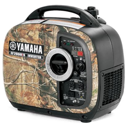 Picture of Yamaha  2000W Gasoline Recoil Start Inverter Generator EF2000ISCHV2 19-4506