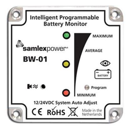 Picture of Samlex Solar  Battery Monitor w/LED Indicators BW-01 19-4743