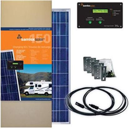 Picture of Samlex Solar  150W 22.28V Solar Kit SRV-150-30A 19-6420