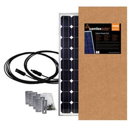 Picture of Samlex Solar  100W 5.81A Expansion Solar Kit SSP-100-KIT 19-6423