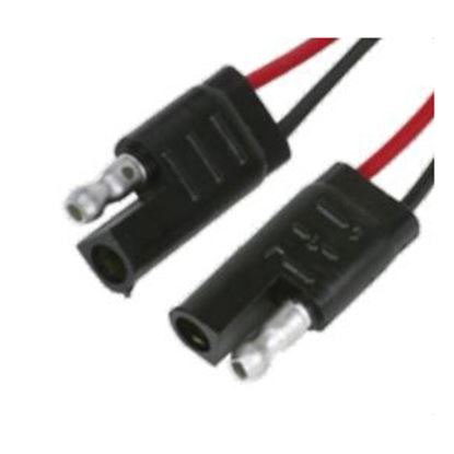 """Picture of Camco  2-Way Flat Trailer Connector w/ 12"""" L Lead Wire 64858 19-7583"""