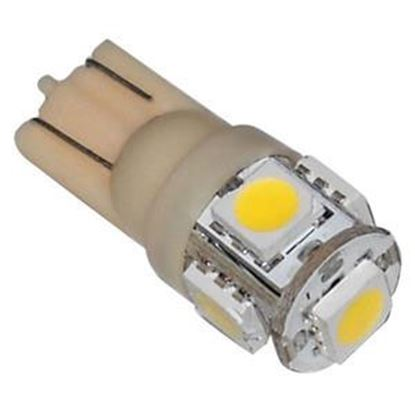 Picture of Diamond Group  6-Pack 194 Style Warm White 140LM Multi LED Light Bulb 52610X6-WW 19-9168
