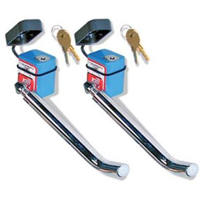"""Picture of Roadmaster  2-Pack 5/8""""D Trailer Hitch Pin w/Keyed Lock 316 20-0459"""