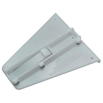 Picture of AP Products  White Door Track Guide for Delta Monorail Drawer Slide 013-110 20-0573