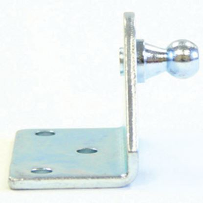 """Picture of AP Products  2-Pack 1-1/4"""" 10mm Ball Stud L Shaped Gas Spring Lift Support 010-145-2 20-0641"""