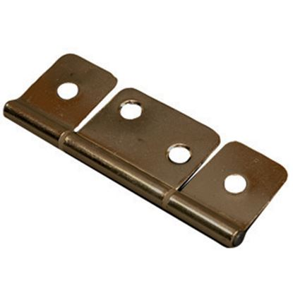 """Picture of AP Products  Brass 3"""" Non-Mortise Hinge, 1/pr 013-046 20-0725"""