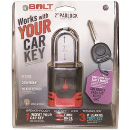 Picture of BOLT Locks  Steel Key Padlock For Early Chevy/Cadillac/Buick/GMC Model Keys 7018517 20-0861