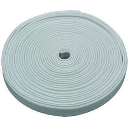 "Picture of AP Products  Polar White Plastic 5/8""W X 25'L Trim Molding Insert 011-370 20-1390"