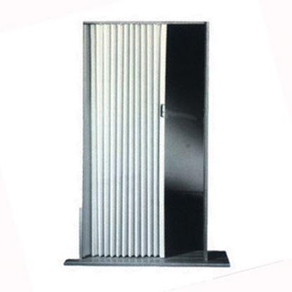 "Picture of Irvine  Ivory 30""x75"" HD Fabric Pleated Folding Interior Door 3075FIB 20-1503"