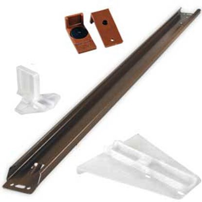 """Picture of JR Products  22"""" 50 lb Drawer Slide For Delta Guide Drawer Rails/ Systems 70805 20-2130"""