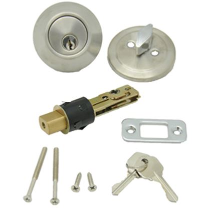 Picture of AP Products  SS Keyed Entry Door Lock w/Deadbolt 013-222 20-4998