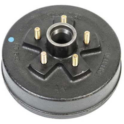 """Picture of Husky Towing  5 Studs 7"""" Hub & Drum 30792 21-0124"""