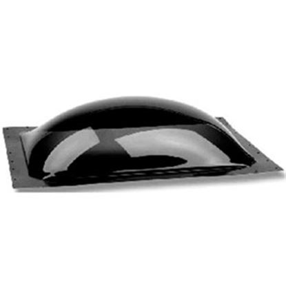"Picture of Specialty Recreation  3.5""H Bubble Dome SQ Smoke Black Polycarbonate Skylight w/Sealant K1414S 22-0057"