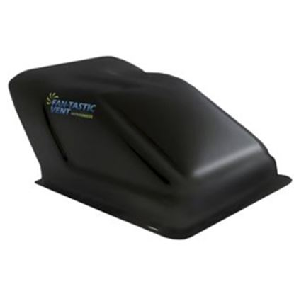 "Picture of Fan-Tastic Vent Ultra Breeze Exterior Dome Type Black Opaque Roof Cover For 14"" X 14"" Vents U1500BL 22-0066"
