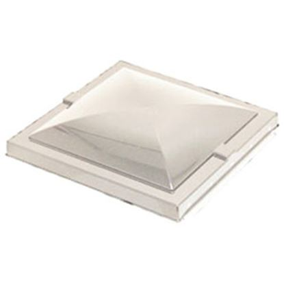 "Picture of Heng's  White 14"" x 14"" Old Elixir Style Roof Vent Lid 90082-C1 22-0153"