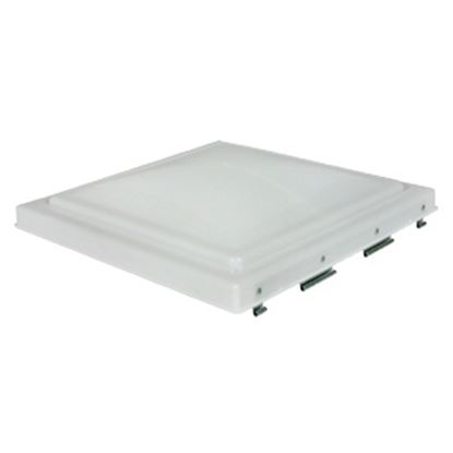 "Picture of Camco  White Polypropylene 14"" x 14"" Jensen Style Roof Vent Lid 40154 22-0200"