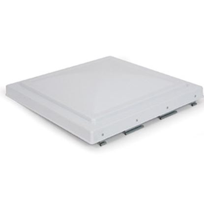 "Picture of Camco  White Polycarbonate 14"" x 14"" Jensen Style Roof Vent Lid 40160 22-0222"