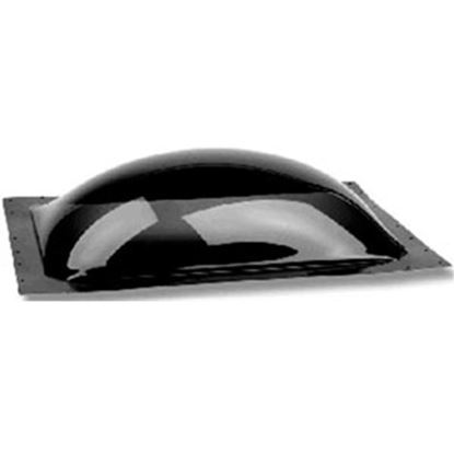 "Picture of Specialty Recreation  4-1/2""H Bubble Type Dome Square Smoke Black PC Skylight w/Sealant SLG2222S 22-0305"