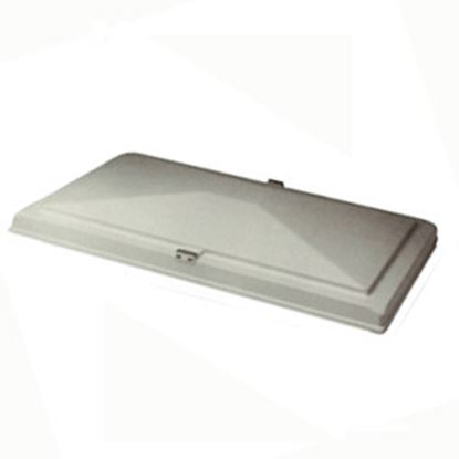 "Picture of Heng's  15"" X 22"" White Exit Vent Lid for Hengs/ Elixir 90008-C1 22-0357"