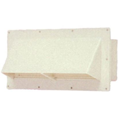 """Picture of Ventline  10-1/2"""" W x 3-3/4"""" H Colonial White Range Hood Vent V2111-11 22-0418"""